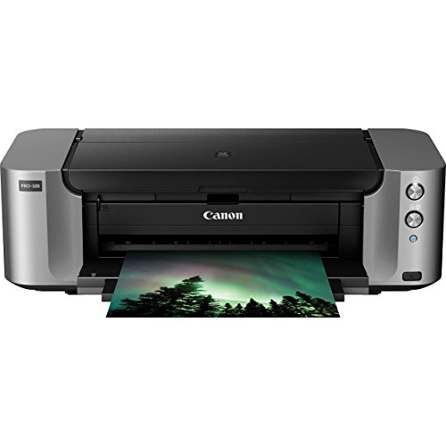 Canon PIXMA Pro-100 Wireless Color Professional Inkjet Printer with Airprint and Mobile Device - Printer Mobile Memory