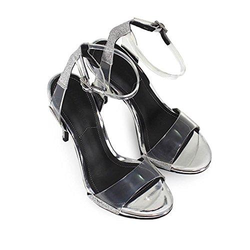 Scintillio Primavera Scarpe Sandalo Donna Estate Kenya Plexi E 2018 Kendall Kylie Da WOxC0nOqwT