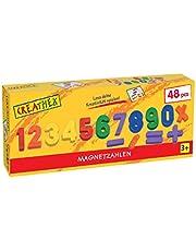 The Toy Company 451.418.9 Kreathek magnet siffror och tecken, 48 stycken
