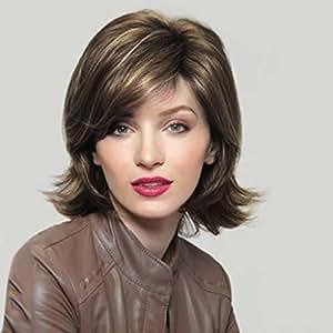 Amazon.com: Extensión de pelo con peluca elástica para el ...