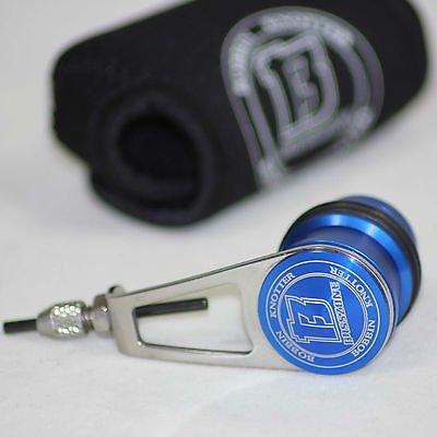 Basszone PR Bobbin Knotter - PE Line Leader Line Knot Tying Tool Jigging  Knots (Blue)