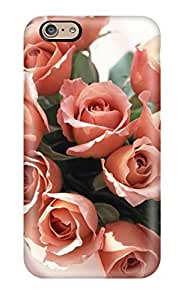 AMGake Perfect Tpu Case For Iphone 6/ Anti-scratch Protector Case (roses Bunch)