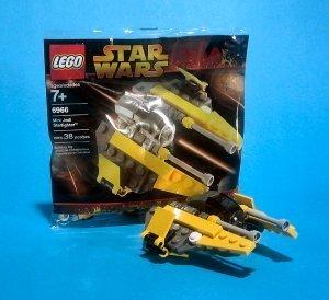 LEGO Star Wars: Mini Jedi Starfighter Establecer 6966 ...