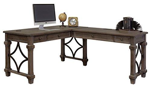 Martin Furniture IMCA386R-KIT Desk Return, Weathered Dove (Desk Antique Executive)