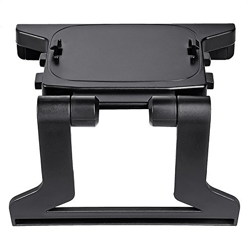 JINHEZO Sensor TV Mount Clip for Xbox 360 Kinect (Best Xbox One Kinect Mount)