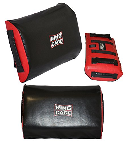 Youth Travel size - Soft KRAV MAGA Tombstone kicking shields by Ring to Cage