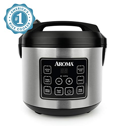 Aroma Housewares 20 Cup Cooked (10 cup uncooked) Digital Rice