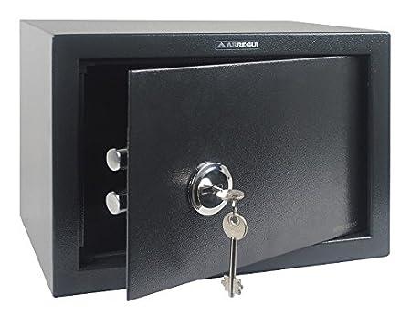 Arregui T25K Caja Fuerte de sobreponer sólo Llave.350x250x250 mm, Gris Oscuro, 350 x 250 x 250 mm: Amazon.es: Bricolaje y herramientas