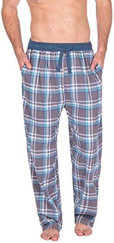 Hombre Tejido Pantalones De Andar Por Casa Pijamas Ropa Para ...
