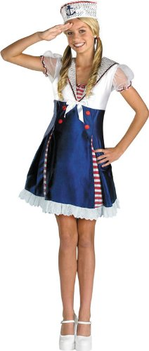 Ahoy Matey Teen Costumes - Ahoy Matey Child Costume Size Pre-Teen/XL (14-16)