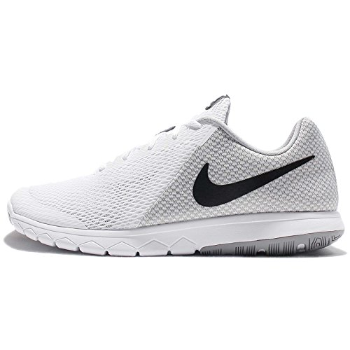 0efcb8038d1 Galleon - NIKE MENS NIKE FLEX EXPERIENCE RN 6 WHITE BLACK WOLF GREY SIZE 7