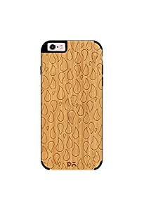DailyObjects Colour Rain Real Wood Bamboo Case For iPhone 6