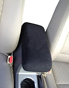 GMC ENVOY 2002-2009 SUV Auto Center Console Armrest Cover Protects from Dirt and Damage Renews old damaged consoles - Black