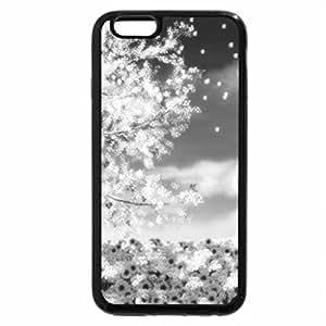 iPhone 6S Plus Case, iPhone 6 Plus Case (Black & White) - Spring tree