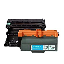 2 Pack SaveOnMany ® Compatible Brother DR-720 DR720 Drum unit + TN-750 TN750 / TN-720 TN720 8K Pages High Yield Black BK Toner Cartridge for DCP-8110DN 8150DN 8155DN / HL-5440D 5450DN 5470DW 5470DWT 6180DW 6180DWT / MFC-8510DN 8710DW 8810DW 8910DW