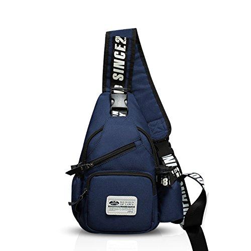 FANDARE Sling Bag Crossbody Bag Shoulder Bag Hiking Backpack Men/Women Polyester