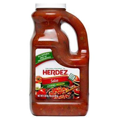 Herdez Salsa Casera Medium 4 lb 6 oz Jug