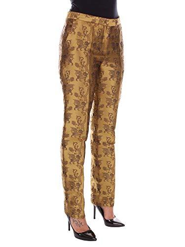 Alberta A030851521431 Or Polyester Pantalon Femme Ferretti wzwxqO6Z
