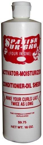 Spanish Sur Gro 4-in-1 Activator/Moisturizer/Conditioner/Oil Sheen 16 oz.