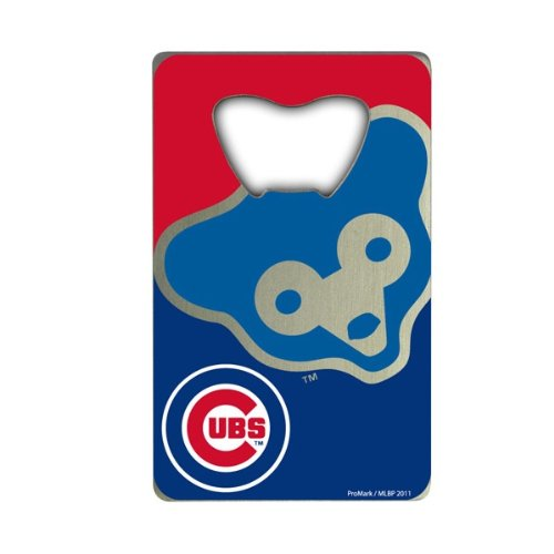 Team ProMark MLB Chicago Cubs Credit Card Style Bottle Opener