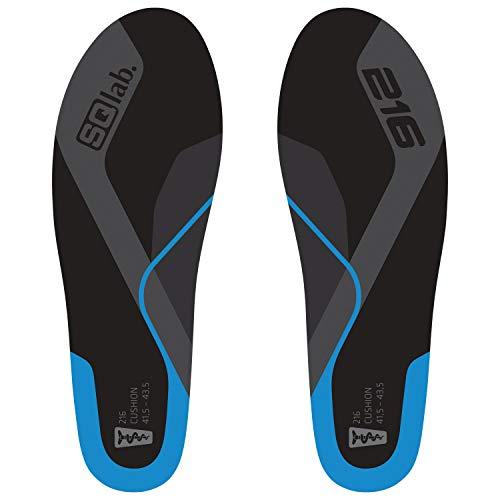 SQlab 216 Cushion Blue High Arch Cycling Shoe Insoles (XXL)