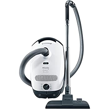 Miele Classic C1 Olympus Canister Vacuum Cleaner, Lotus White - Corded