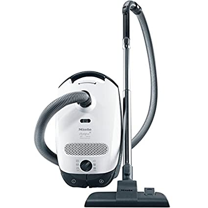 Attractive Miele Classic C1 Olympus Canister Vacuum Cleaner, Lotus White   Corded