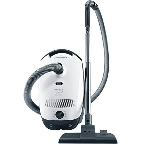 Miele Classic C1 Olympus Canister Vacuum Cleaner, Lotus White - Corded Reviews