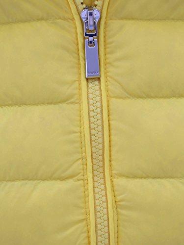 Geox W6225A T1816 Piumino Donna Giallo 44