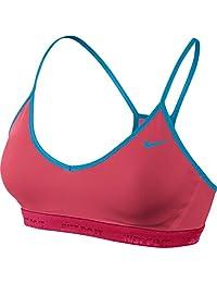 Nike Girls Hypercool Pro Sports Bra Pink Blue