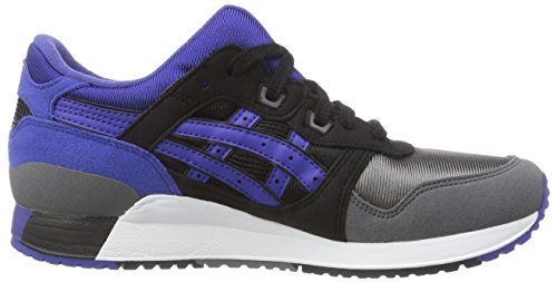 lyte titanium Adulte Mixte Noir Gel black 9097 Chaussures Gs Outdoor Iii Multisport black Asics 64pq5xp