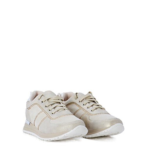 Brillantes Color Zapatillas con Beige SS18 en Sneakers de Mujer wYgqIgSPB