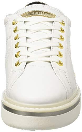 Donna White Bianco Lumberjack Ca001 Sneaker Skyler qvfCCR