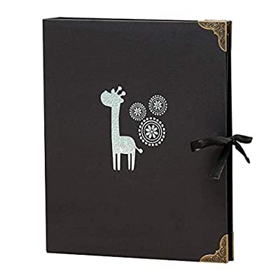 DWLXSH Commemorative Album Scrapbook Photo Album 80 Pages(40 Sheets) Craft Paper Material Can Store 160 Sheets of 6x4/10.2x15.2cm Photos Mutli-Style to Choose
