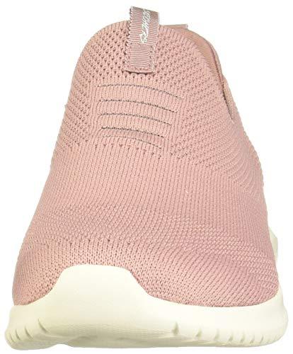 Skechers Mauve Flex Mujer Ultra Cordones Take Zapatillas Para first Sin wBwOaRqx