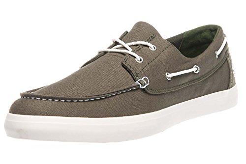 Timberland Men Union Wharf 2 Eye Ox Boat Shoes Green (Grape Leaf A58)