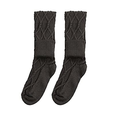 Winter Socks,kaifongfu Thermal Casual Solid Soft Knee-High Cotton Warmer Solid Edge Socks