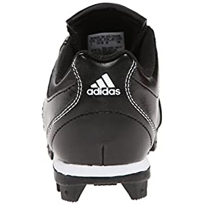 adidas Performance Change Up MD 2 K Baseball/Softball Cleat (Little Kid/Big Kid), Black/University Red/White, 5 M US Big Kid