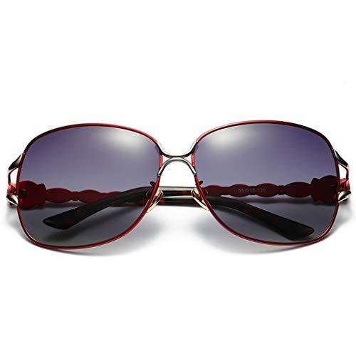 señora de XINGUANG Gafas para conducción de de de Mujer Nose Gafas Espejo Pesca de polarizadas Sol Sol Jade C6vqS