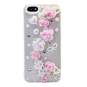 JOE Love Of Rose Pearl Back Case for iPhone 5/5S