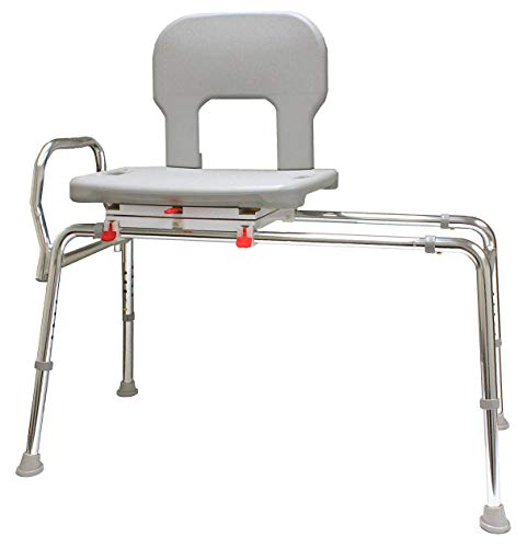 EagleHealth Bariatric Swivel Sliding Bench 55682