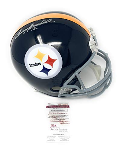 Terry Bradshaw Pittsburgh Steelers Signed Autograph Throwback Full Size Helmet Bradshaw Hologram JSA Witnessed Certified