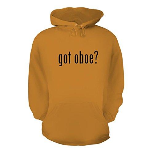 got oboe? - A Nice Men's Hoodie Hooded Sweatshirt, Gold, Large