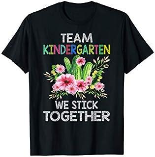 Team Kindergarten Cactus Tee  Back To School Gift T-shirt | Size S - 5XL