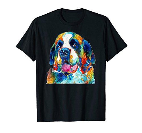 St. Bernard Shirt - Gift For Dog Lovers