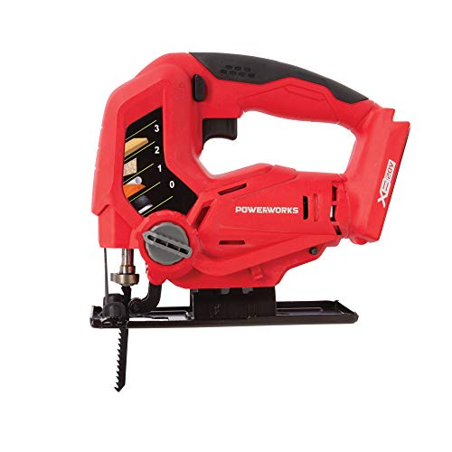 POWERWORKS XB 20V Cordless Jig Saw, Battery and Charger Not Included JSG303