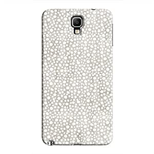 Cover It Up - Silver Pebbles Mosaic Galaxy Note 3 Neo Hard Case