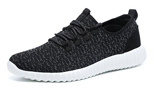 Driving Sneaker - CanLeg Mens Lightweight Driving Fashion Sneakers Casual Sport Shoes(YZ66888Black39)