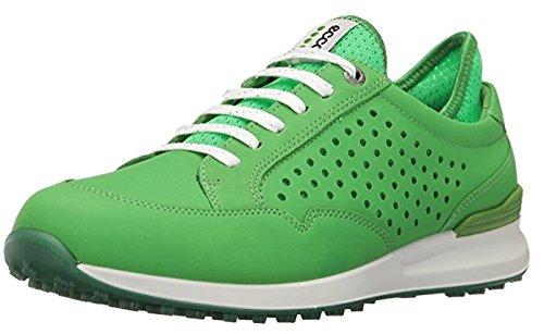 ECCO Women's Speed Hybrid Golf Shoe, Meadow/Toucan Neon, 37 EU/6-6.5 M US