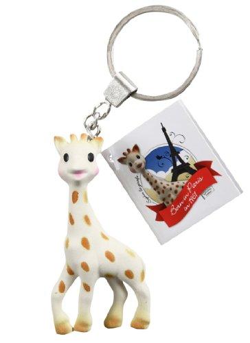 Sophie the Giraffe Keychain (Giraffe Baby Bottle)